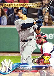 2018 Topps #1 Aaron Judge Baseball Card - Topps All-Star Rookie
