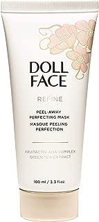 Doll Face Beauty Refine Peel-Away Refining Gel Mask, 3.3 Ounce