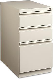 Lorell LLR49520 Mobile File Pedestal, Putty