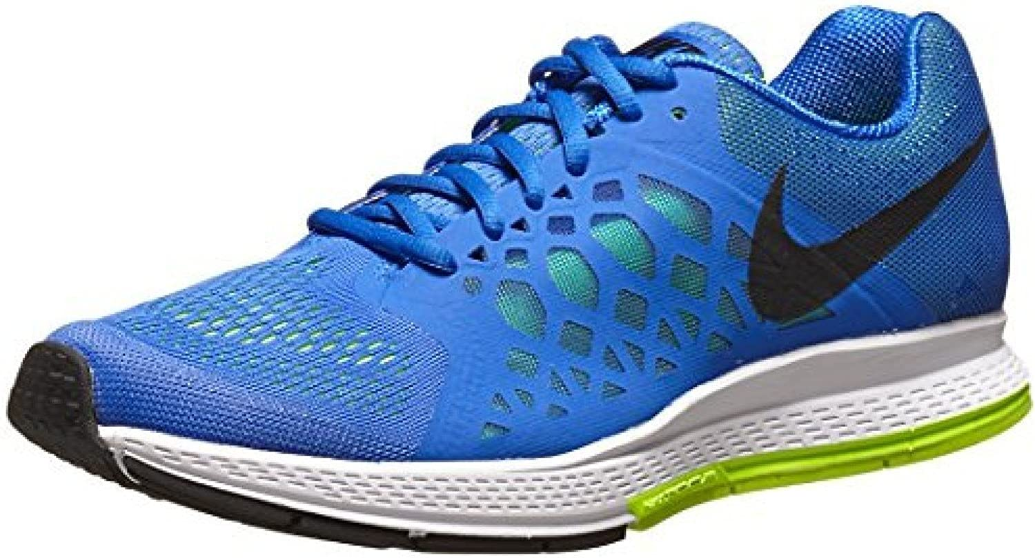 Nike Zoom Pegasus 31 Mens Running shoes (Hyper Cobalt Volt Black)