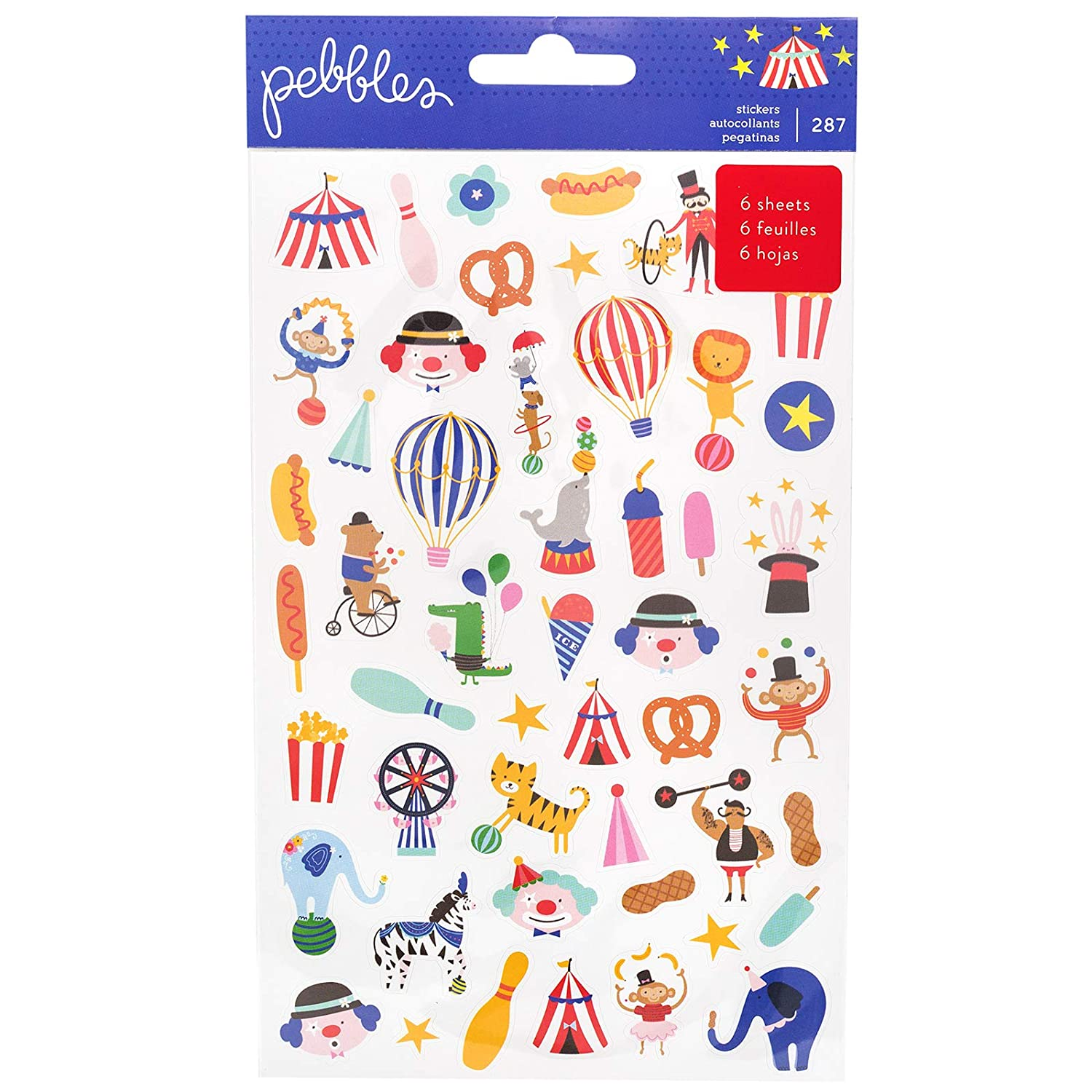 Pebbles 734114 Sticker Books, Multi