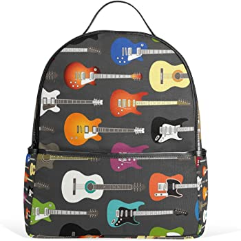 Ahomy Backpack Electric Guitar Rucksack School Bag for Girls