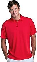 Vantage Men's Vansport Omega Tech Polo Shirt, Real Red, XX-Large