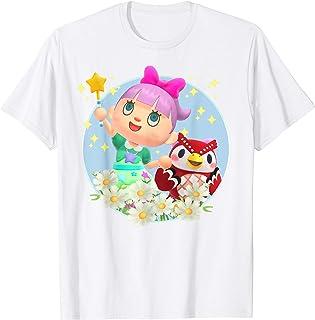 Animal Crossing New Horizons Villager & Celeste Portrait T-Shirt