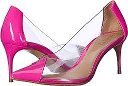Transparent/Neon Pink Vinil/Verniz Ne