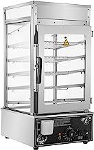 VEVOR Cuiseur à Vapeur Commercial, Cuiseur/Vapeur de Cuisine électrique 5 étagères, Four à Vapeur 900W, pour la Cuisson à ...