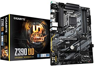 Gigabyte Technology Z390 UD - Placa base (Intel Z390, S 1151, DDR4, SATA3, M.2), color negro