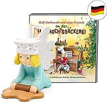 tonies Hörfigur für Toniebox, Weihnachtslieder: Rolf Zuckowski – In der Weihnachtsbäckerei, Hörspiel für Kinder ab 3...