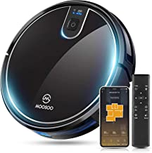 MOOSOO Robot Vacuum, Wi-Fi Connectivity, Easily Connects with Alexa or Google Assistant, Voice Control, Super Thin Robotic...
