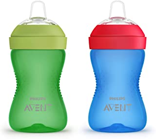 Philips AVENT My Grippy Spout Cup, 10oz, 2pk, Blue/Green,...