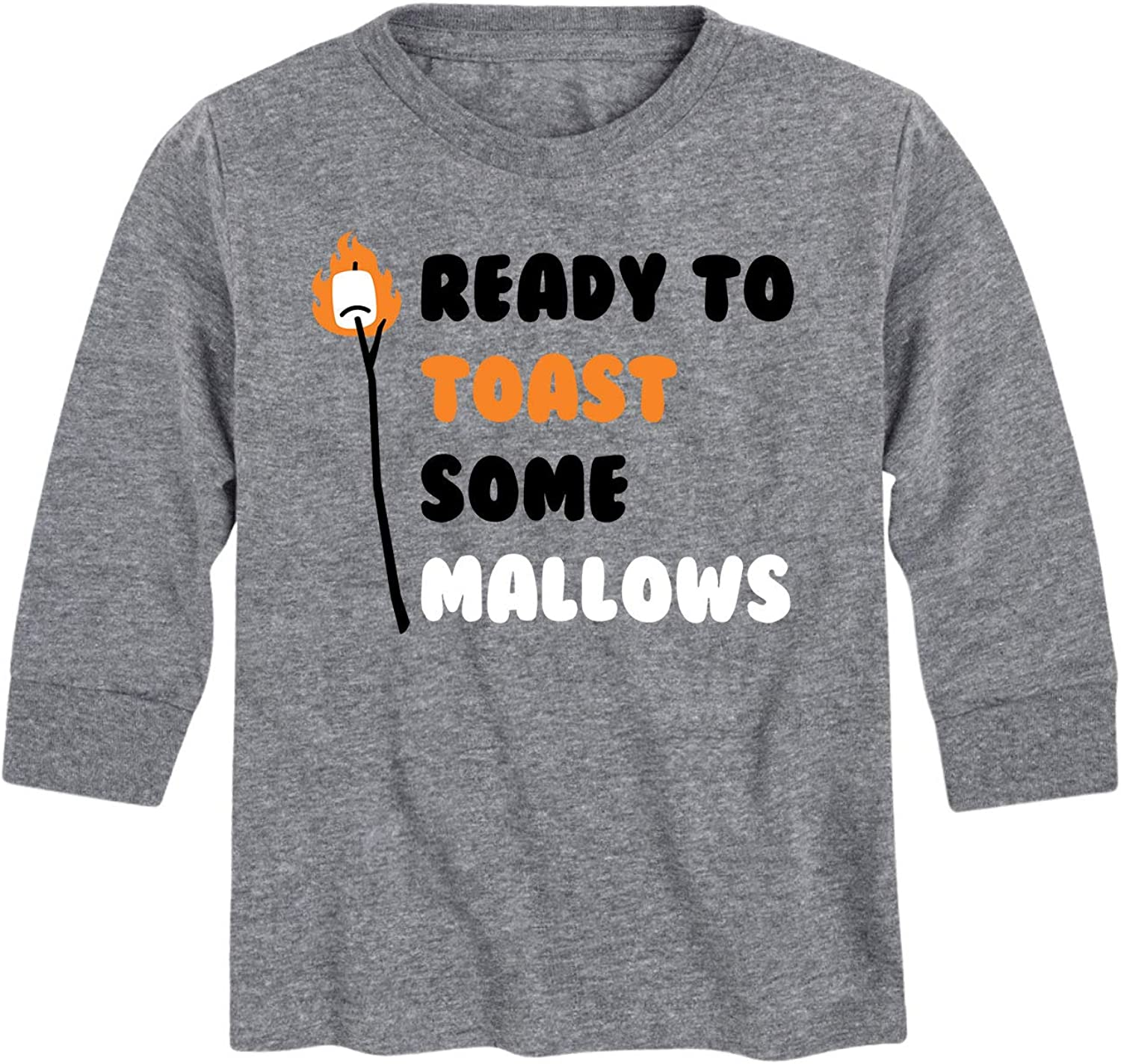 Instant Message Ready to Toast Some Mallows - Kids Long Sleeve Tee