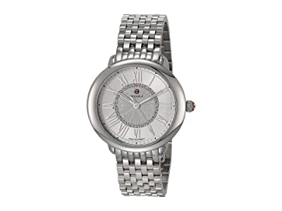 Michele Serein Mid Bracelet (Silver) Watches