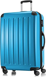"""Hauptstadtkoffer Alex Luggage Suitcase Hardside Spinner Trolley Expandable 28"""" TSA Blue 75 Centimeters"""