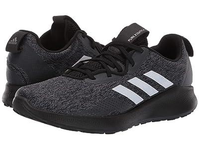 adidas Running Purebounce+ Street (Core Black/Tech Silver Metallic/Carbon) Women