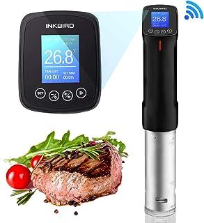 Inkbird Sous Vide Wi-Fi 1000W Aparato de Cocina Culinaria de Precisión Circulador de Inmersión Térmica de Precisión Interfaz Digital Temperatura y Temporizador para Cocina