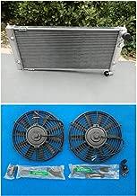 New Aluminium Radiator + Fan For VW Golf 2 Corrado VR6 Turbo turbo 16V G60 VWO2