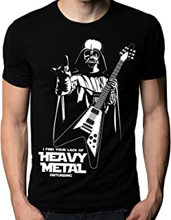 The Nakin Funny Star Wars I Find Your Lack Of Heavy Metal Flying V Guitar T-Shirt