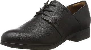 Zapatos para Crews 32394-40//6.5 DELRAY Zapatos de cuero Casual para Mujer Negro Talla 6.5 UK