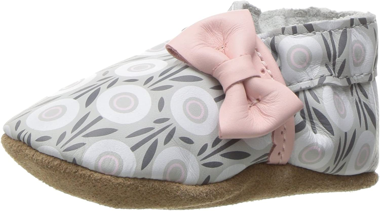 Robeez baby-girls Robeez Girls' Soft Soles, Traditional Silhouette