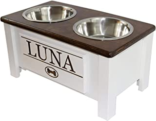 Best custom dog bowl stand Reviews