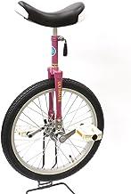"""どのスポーツのトレーニングにも一輪車は最適。 バランス感覚・体幹を鍛えられます!MYSオリジナルモデル""""Stay On Top""""【MYS18PK】シャイニングピンク 18インチ 日本一輪車協会認定 ベルマーク参加商品 一輪車 ユニサイクル プレゼント キッズ 2年~5年生"""