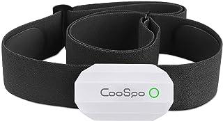 comprar comparacion CooSpo Monitor Sensor Banda de Frecuencia Cardiaca Bluetooth 4.0 Ant + para Garmin Polar Wahoo Endomondo Zwift y Otros…