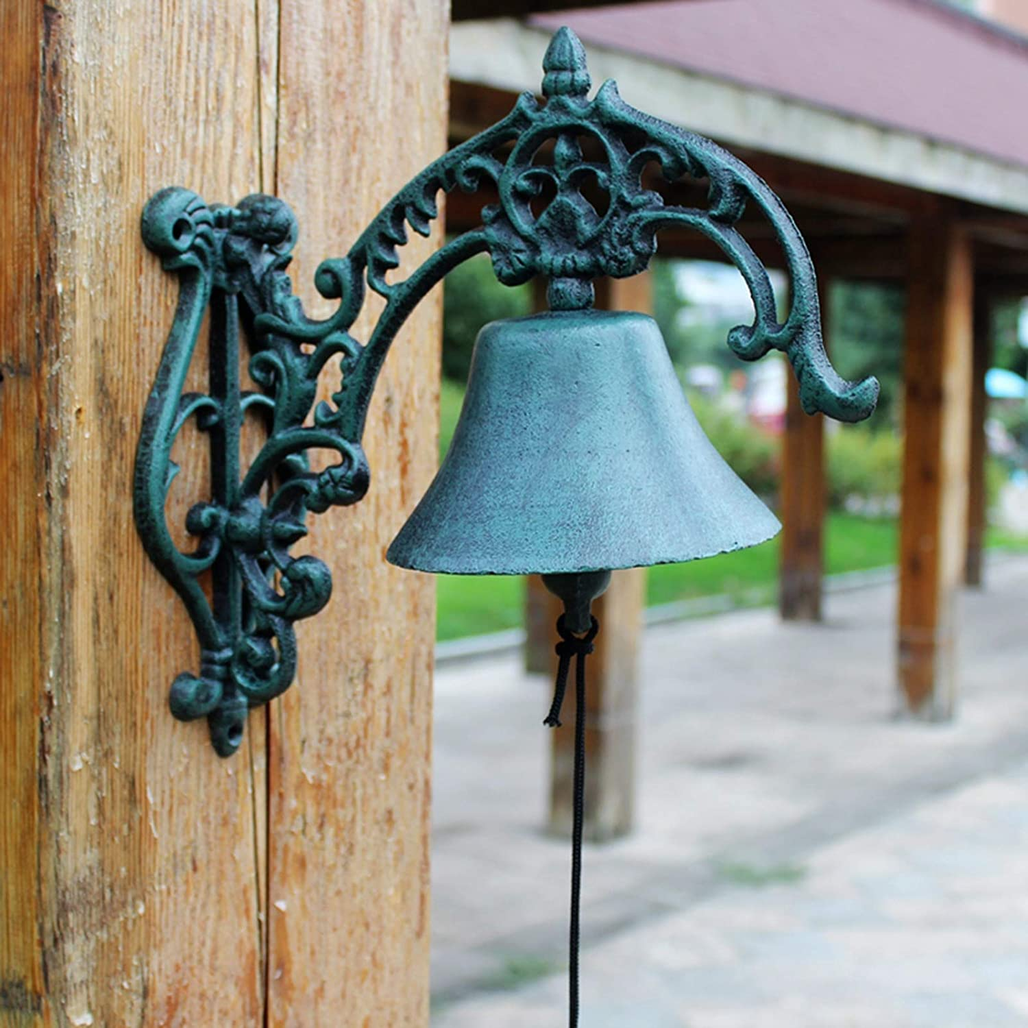 Outdoor Decor Bell with NEW before selling ☆ Shopkeepers Over Bracket Exquisite Regular dealer
