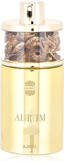 Ajmal Aurum Gift Set for Women, 75ml PERFUME,200ml SHOWER GEL,200 GRAMS BODY BUTTER AND 100 GRAMS PERFUMED BODY POWDER