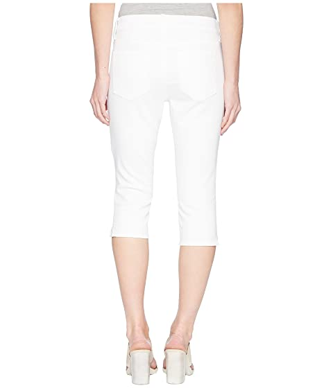 NYDJ Petite Petite Skinny Capris in Optic White Optic White Buy Cheap Low Price Fee Shipping Discount New Arrival Outlet Shop For Buy For Sale iN5wnlU9