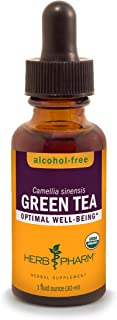 HERB PHARM Green Tea Herb Glycerite, 2 Pounds (GLGTEA01), 1 Fl Oz (Pack of 1)