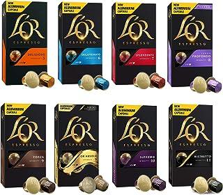 comprar comparacion L'OR Espresso - Surtido de Café Expreso -Cápsulas de café de aluminio compatibles con máquinas Nespresso® - 8 paquetes de ...