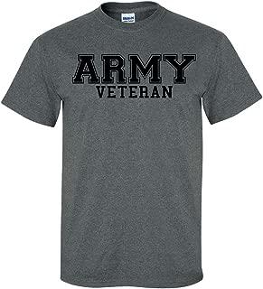 Army Veteran Black Logo Short Sleeve T-Shirt