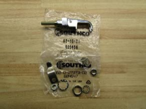 Southco 62-10-21 Polished Chrome Lift and Turn Compression Latch, Adjustable Grip