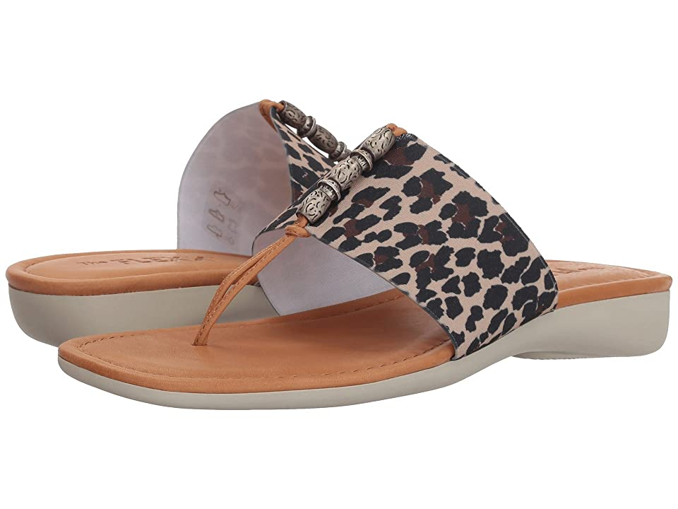 The FLEXX Rain Maker (Dune/Cognac Leopard Elastic) Women