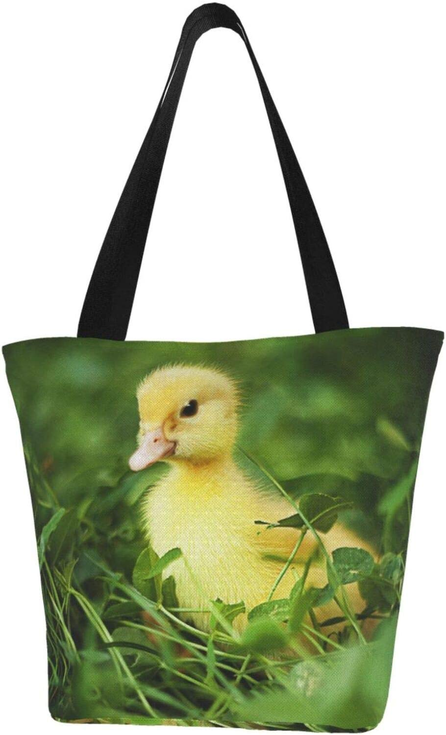 AKLID Little Max 58% OFF Yellow Direct store Duck Extra Canvas Resistant Large Water Tote