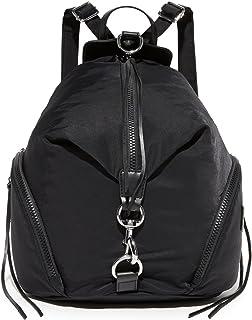 Rebecca Minkoff Women's Nylon Julian Backpack, Black, One Size