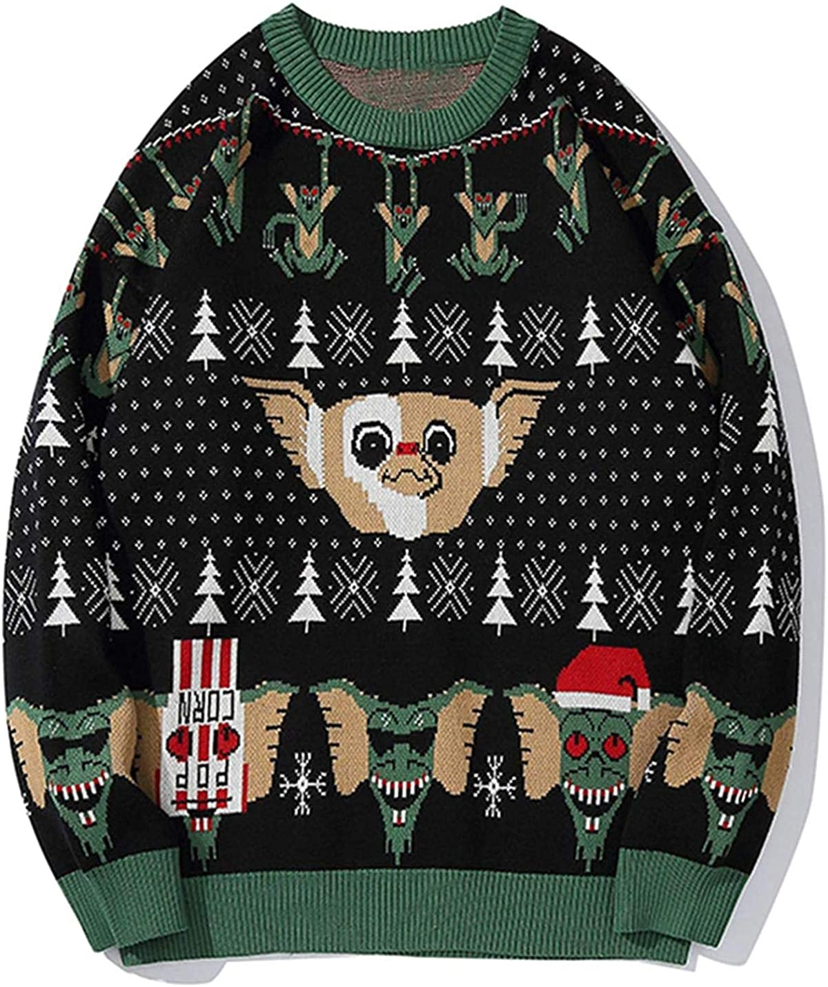 Nanoki Sweaters Men Animal Print Ranking TOP17 Pullover Mens Import Male Harajuku Swe