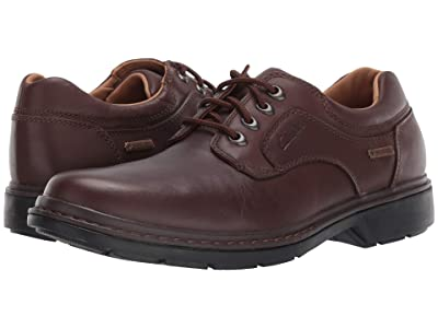 Clarks Rockie Lo Gtx (Brown Leather) Men