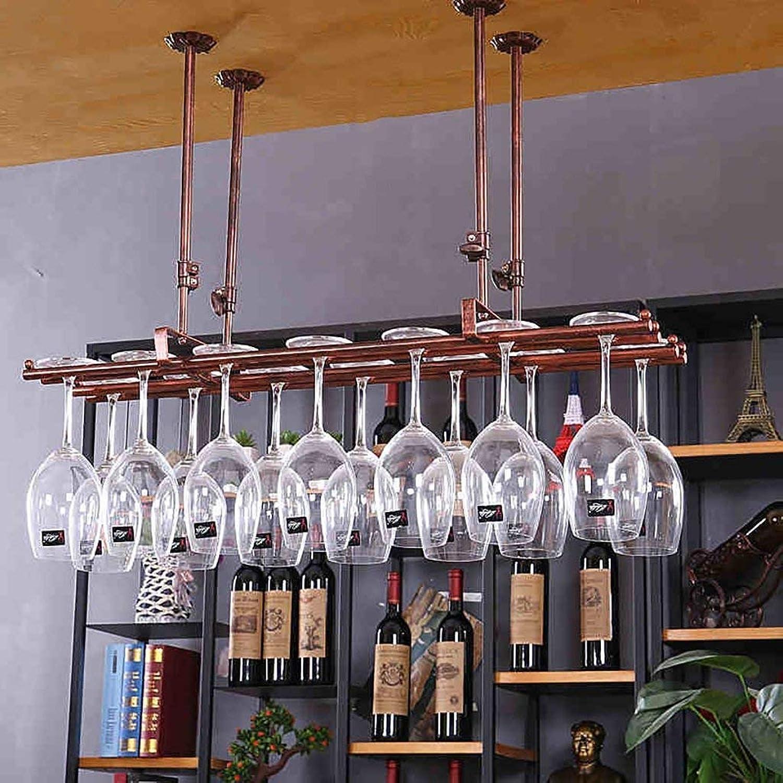 Wine Rack Wine Glass Rack,Suspension Creative Wine Rack,Upside Down Iron Red Wine Glass Frame,Bar Household Wine Cup Holder Wine Set (color   White, Size   80  25cm)