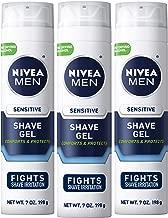 NIVEA Men Sensitive Shaving Gel – Protects Sensitive Skin From Shave Irritation..