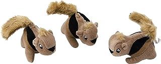 Outward Hound Squeakin' Squirrels Puzzle Plush Replacement Animals - 3 Pack