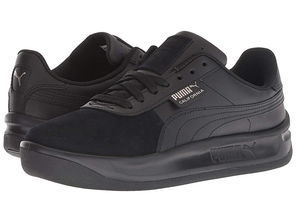 PUMA California Exotic (PUMA Black/Metallic Ash) Women's Shoes