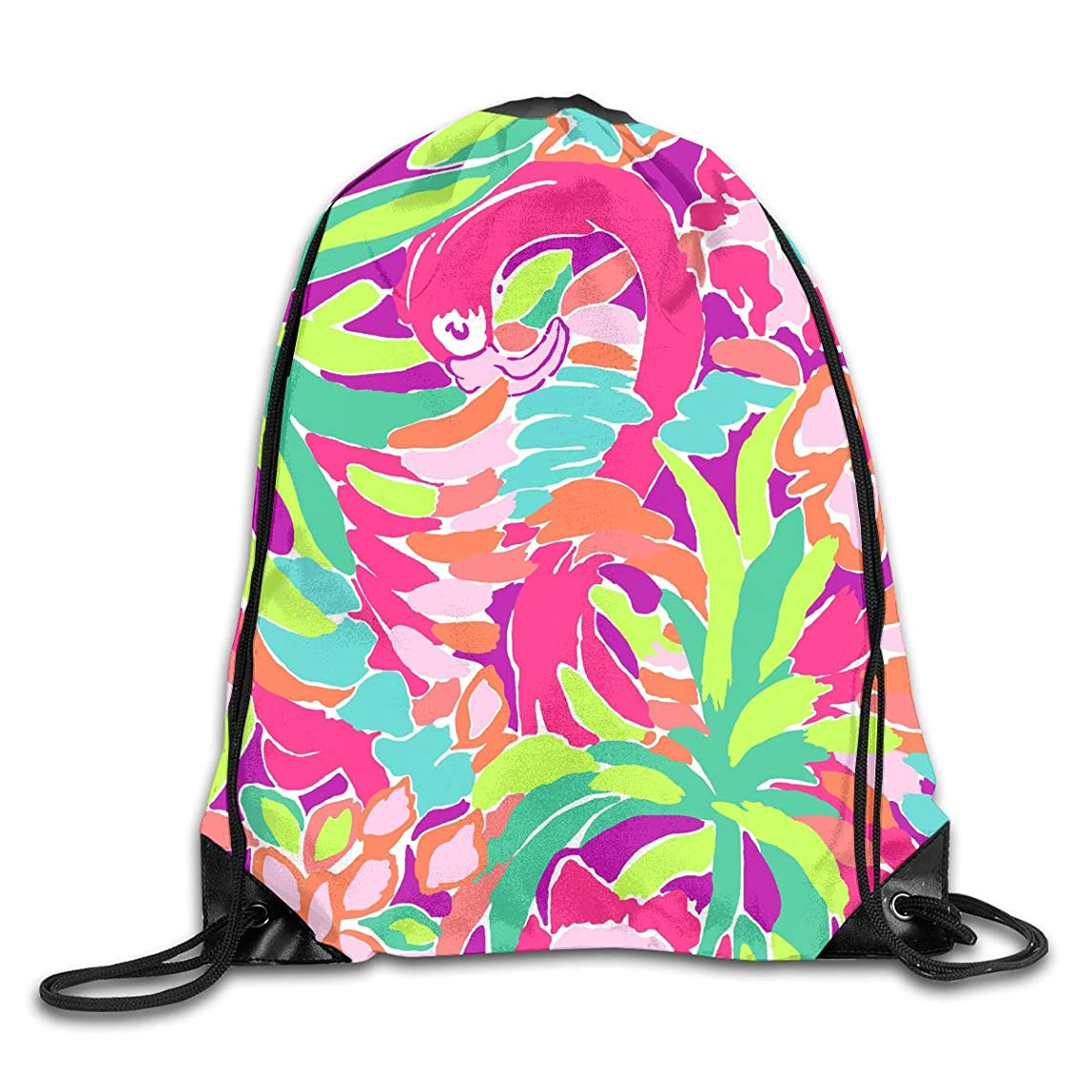 Lilly Pulitzer Cyber Monday Men & Women Sport Gym Sack Dancing Bag Drawstring Backpack For Beach Hiking Travel Bags