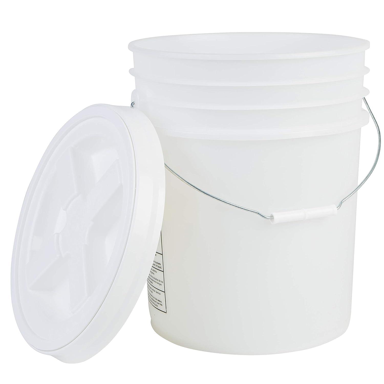 Hudson Exchange Premium Minneapolis Mall 5 Gallon Bucket with HDP Lid Gamma Seal Overseas parallel import regular item