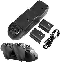 JINQII Estação de carregamento de controlador universal para controles Xbox Series X S, base de carregador com controlador...