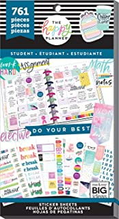 The Happy Planner Value Pack Stickers - Student, Multi