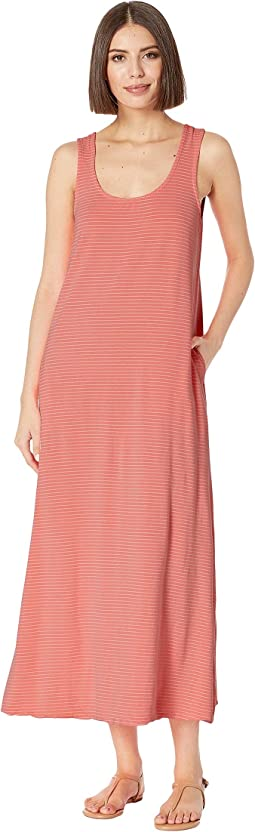 Pinstripe Juliet Maxi Dress