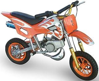 KENROD Moto-Cross de Gasolina   Moto Cross   Mini Moto dos tiempos   Motocross de 49CC   Color Naranja