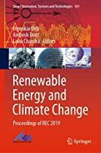 Renewable Energy and Climate Change: Proceedings of REC 2019 (Smart Innovation, Systems and Technologies Book 161)
