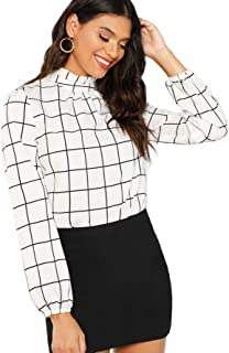 Best black printed shirt women's Reviews
